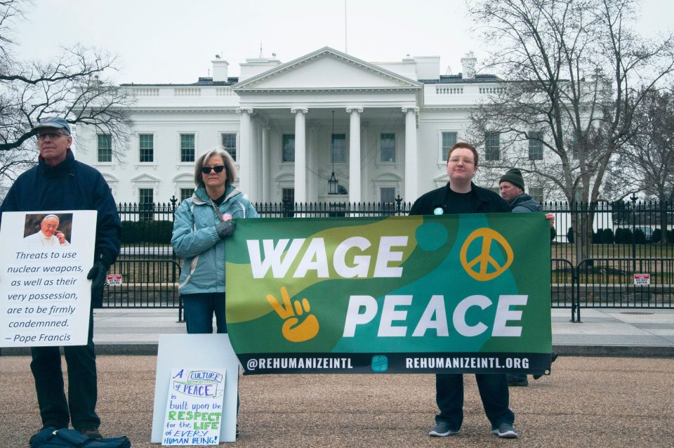 green peace outdoor banner